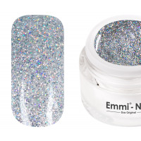 Emmi-Nail Glittergel Magic Silver 5ml -F365-