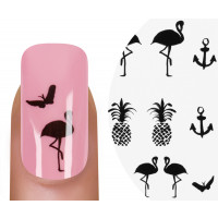 Emmi-Nail Watertattoo Ananas 3