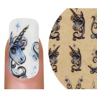 Emmi-Nail Watertattoo Einhorn