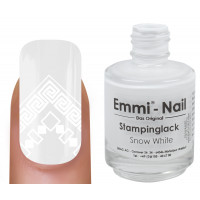 "Stampinglack ""snow white"" 15ml"