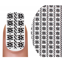 Emmi-Nail 3D Tattoo Winter schwarz