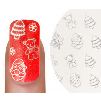 Emmi-Nail Watertattoo Christmas 6