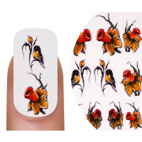 Emmi-Nail Watertattoo Yellow Flowers