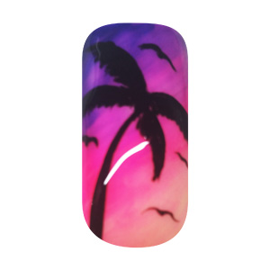 Step-by-Step Anleitung – Sunset Nails