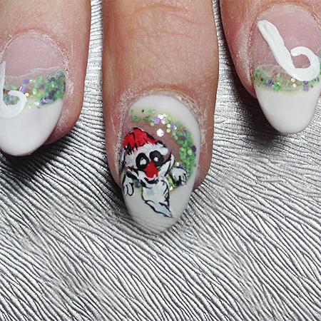 Step: Anleitung Weihnachtsmann von der Werbepartnerin Sonja Atesli-Eberl