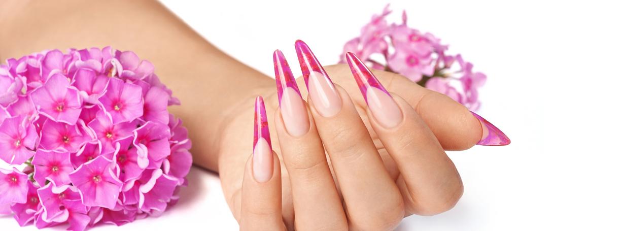 Stiletto Nails selber machen