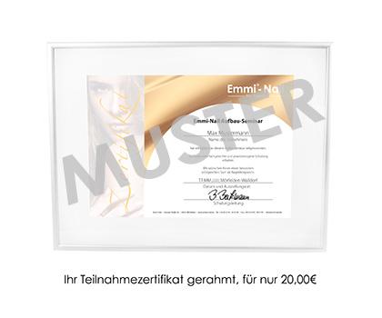 Zertifikat Aufbau-Seminar