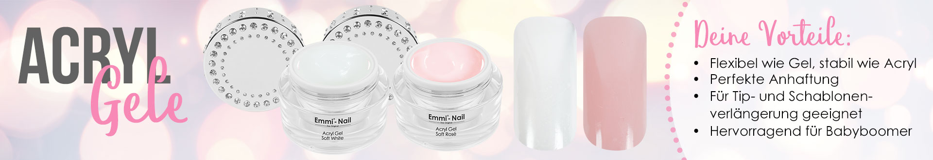 Acryl Gel Günstig Online Kaufen Emmi Nail