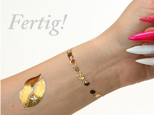 Step-by-Step Anleitung Flash Tattoos